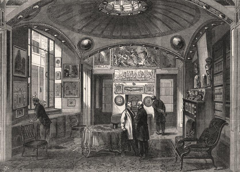 Associate Product Sir John Soane's Museum: The breakfast-room. Lincoln's Inn Fields, London, 1864