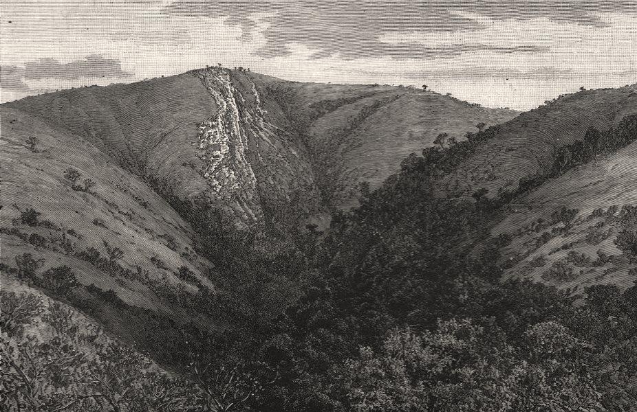 Associate Product De Kaap goldfields, Transvaal: Sheba Mountain & the reef. South Africa, 1887