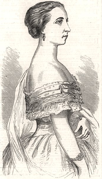 Associate Product Mlle Titiens, the new Prima Donna at Her Majesty's Theatre. London, print, 1858