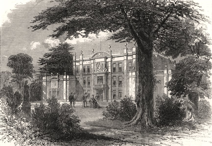 Associate Product Camden place, Chislehurst, the residence of the Empress Eugenie. London, 1870