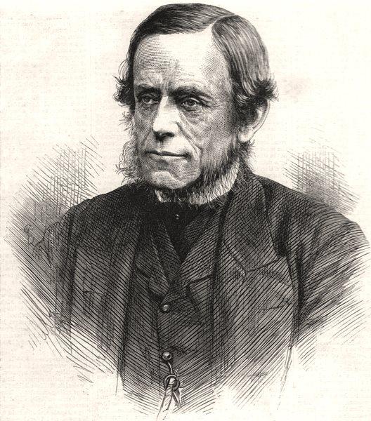 Associate Product Captain Cowper Coles, R. N. designer of H. M. S. Captain. Portraits, print, 1870