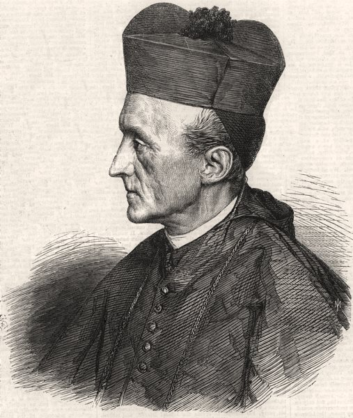 Associate Product Rev. Dr, Manning, the new Roman Catholic Archbishop of Westminster. London, 1866