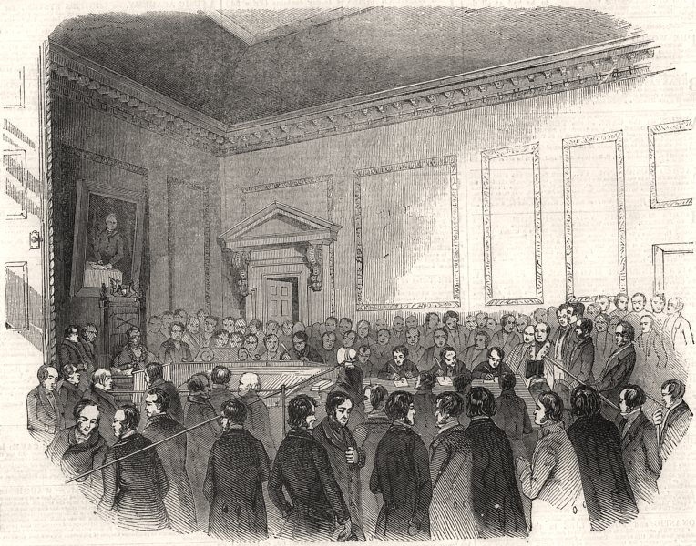 Associate Product The Will Forgeries Case - examination at the Mansion-House. London, print, 1844