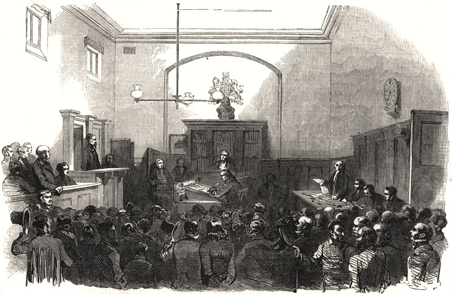 Associate Product War-Rocket case, Bow-Street police-office. Hungarian witness examination, 1853