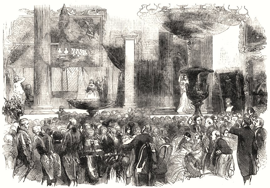 Associate Product Grosvenor-House fete in aid of The Hospital for Women, Soho Square. London, 1855