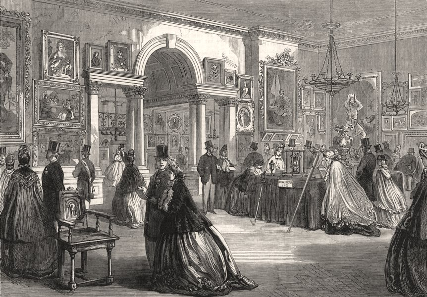 Associate Product Shakespeare pictures & relics exhibition, Stratford-on-Avon Townhall, 1864