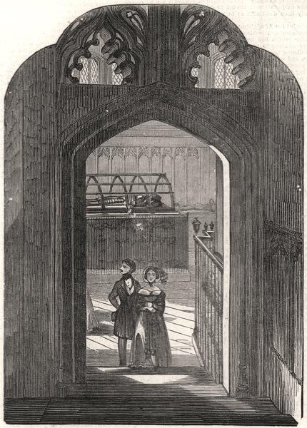 Associate Product Warwick: Beauchamp Chapel & tomb of Richard Beauchamp, Earl Of Warwick, 1847