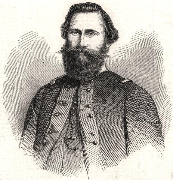 Associate Product Maj-Gen JEB Stuart cavalry commander Confederate Army of Northern Virginia, 1863