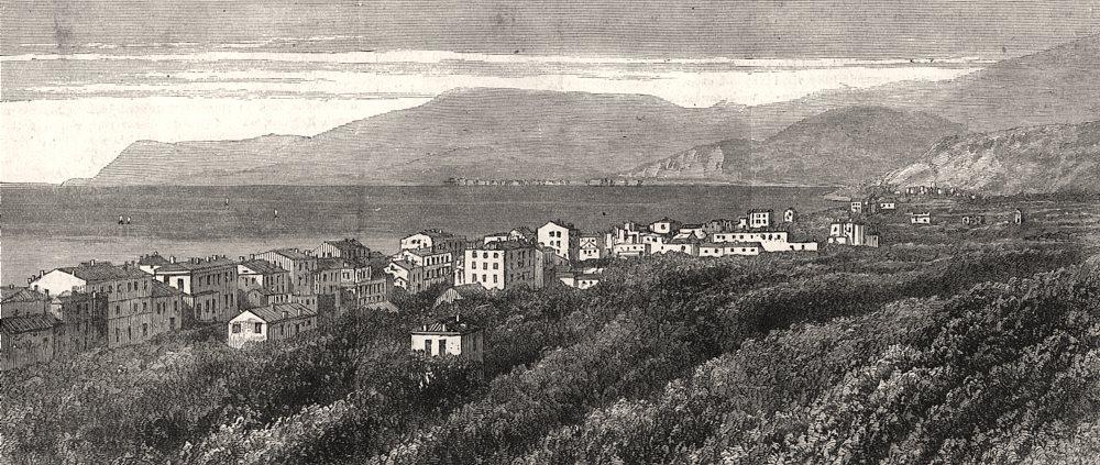 Associate Product The Riviera: Bordighera. Italy, antique print, 1882