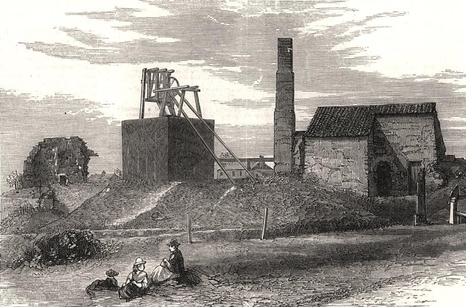 Associate Product Killingworth High Pit coal mine. George Stephenson. Mining. Northumberland, 1881