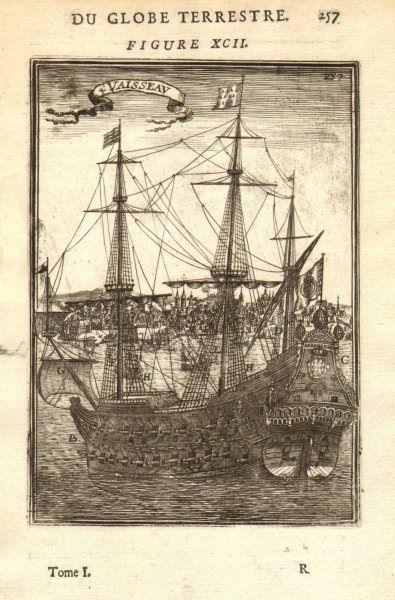Associate Product PORTUGUESE NAVY. Pai Eterno/Pere Eternal built Goa 1664. at Lisbon? MALLET 1683