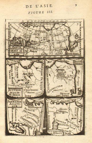 Associate Product NORTH & CENTRAL ASIA ANCIENT. Scythia Serique Sarmatia Siberia. MALLET 1683 map