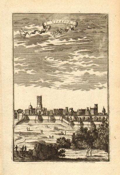 Associate Product View of VISAPUR/Visapoor. 'Visapor'. Maharashtra, India. MALLET 1683 old print