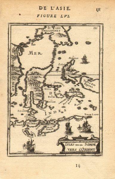 Associate Product EAST INDIES INDONESIA. Sulawesi Celebes Sunda Maluku New Guinea. MALLET 1683 map