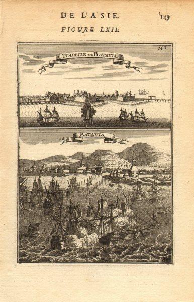 Associate Product DUTCH EAST INDIES. 'Citadelle de Batavia' (Jakarta) Indonesia. MALLET 1683