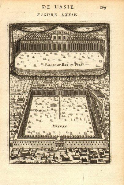 Associate Product ISFAHAN. Royal Palace (Ali Qapu) Naqsh-e Jahan (Maidan) Square. MALLET 1683