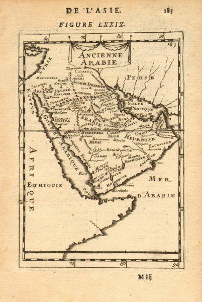 Associate Product ANCIENT ARABIA. Saudi UAE Oman Qatar Petra. 'Ancienne Arabie'. MALLET 1683 map