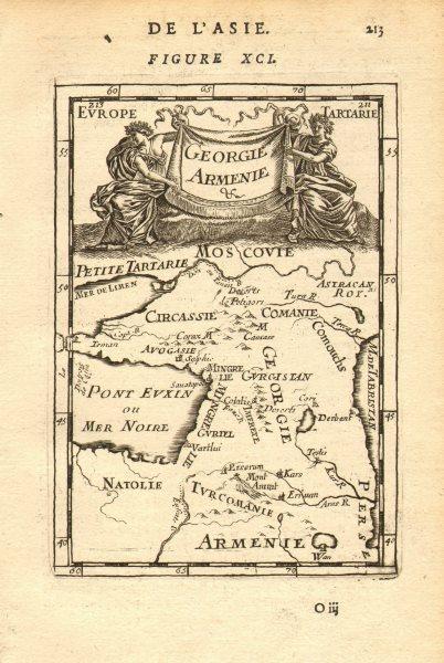 Associate Product CAUCASUS. 'Georgie Armenie' Georgia Armenia Tblisi Russia. MALLET 1683 old map