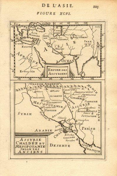 Associate Product Ancient ASSYRIAN EMPIRE Chaldea Mesopotamia Euphrates Asia Iraq. MALLET 1683 map