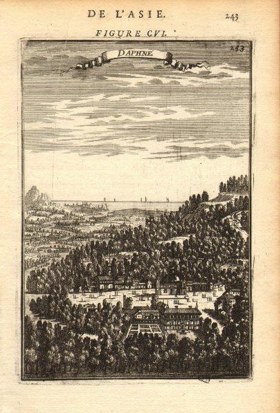 Associate Product ANTIOCH. 'Daphné' (Daphne). Antakya. Ancient Syria (now Turkey). MALLET 1683