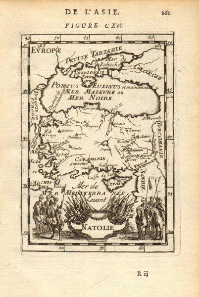 Associate Product ANATOLIA 'Natolie' Asia Minor Turkey. Black Sea Cyprus Rhodes. MALLET 1683 map