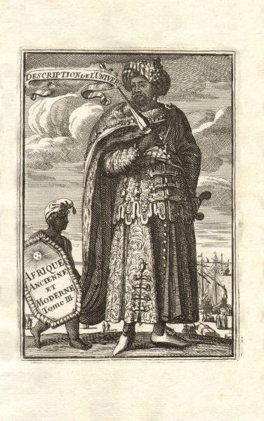 Associate Product MALLET. Description de l'Univers. Africa. Volume 3 title page. MALLET 1683