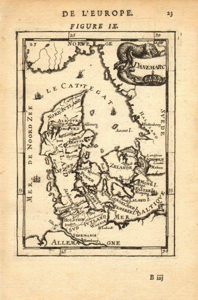 Associate Product DENMARK Regions towns. Copenhagen Aarhus Odense. 'Danemarc'. MALLET 1683 map