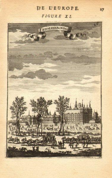Associate Product DENMARK. Frederiksborg Royal Palace, Hillerød Hillerod. Carriages. MALLET 1683