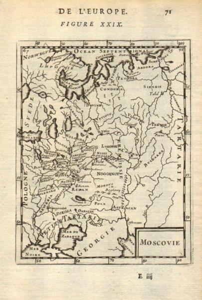 Associate Product RUSSIA/UKRAINE 'Moscovie' Muscovy Moscow Smolensk Novgorod. MALLET 1683 map