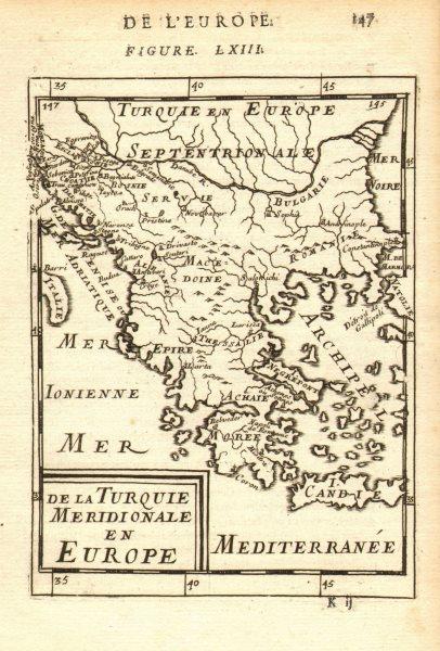 Associate Product GREECE & BALKANS. Albania Bulgaria Serbia Croatia Bosnia Aegean. MALLET 1683 map