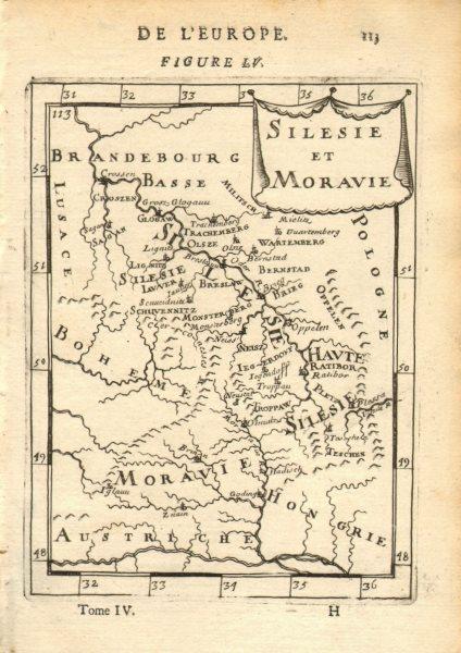 Associate Product POLAND/CZECH. Silesia Moravia. Schlesien. 'Silesie et Maravie'. MALLET 1683 map
