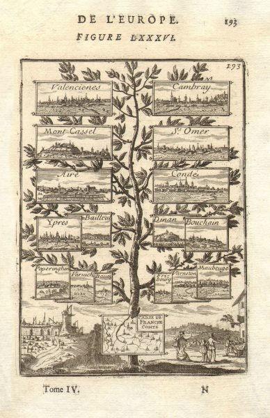 Associate Product NIJMEGEN 1678 TREATY Valenciennes Cambrai Cassel St Omer Aire Condé. MALLET 1683