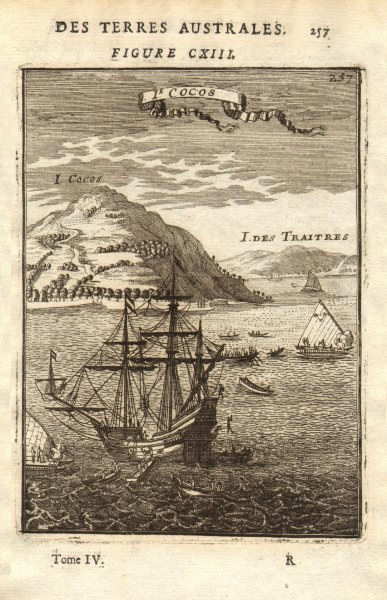 TONGA. Tafahi (Cocos Island) & Niuatoputapu (Traitors Island). MALLET 1683