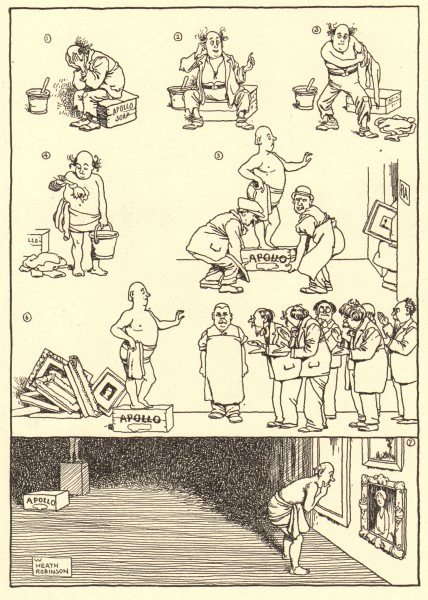 Associate Product HEATH ROBINSON. The man who couldn't afford to go to the Academy. Artists 1935