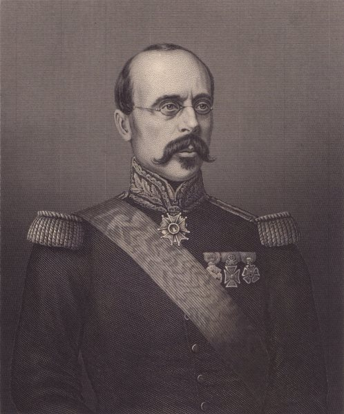 Associate Product FRANCO-PRUSSIAN WAR. General Faidherbe. France. Militaria 1875 old print