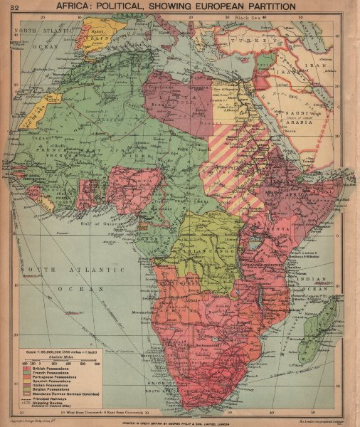Map Of Africa 1940.Details About Second World War Africa Showing European Colonies German Mandates 1940 Map