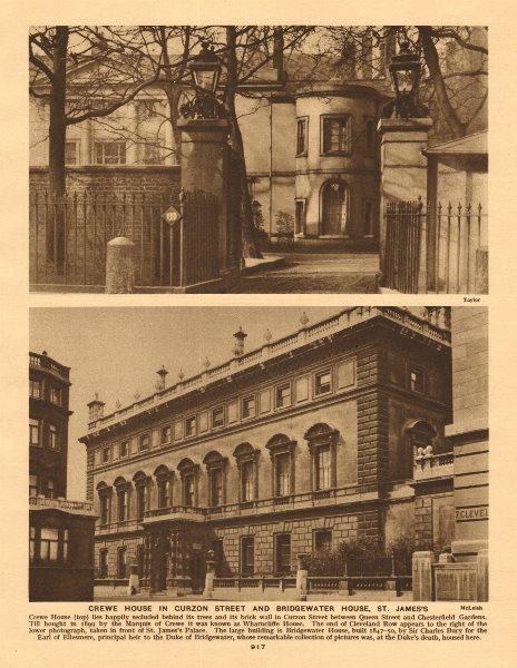 Associate Product Crewe House, Curzon Street (Saudi Embassy). Bridgewater House, St. James's 1926