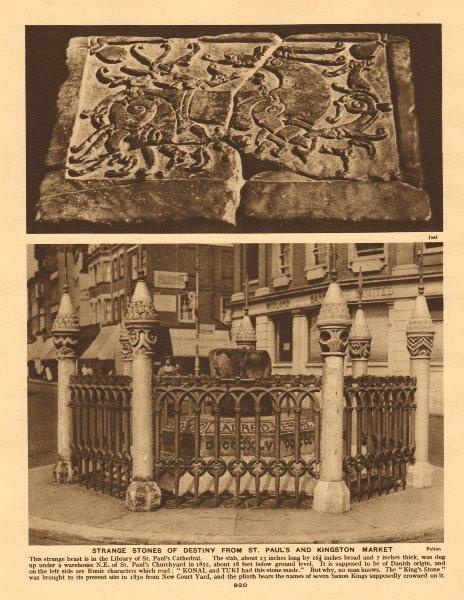 Associate Product St Paul's Konal Tuki & Coronation/King's Stone, Kingston-upon-Thames 1926