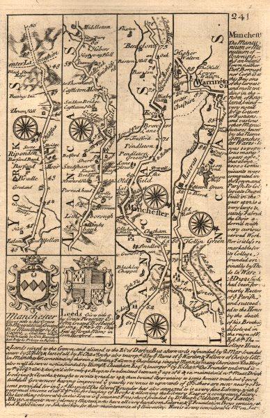 Associate Product Ripponden-Rochdale-Manchester-Eccles-Warrington OWEN/BOWEN road map 1753