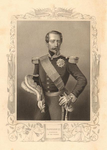 Associate Product Napoleon III, Emperor of the French. Charles-Louis Napoléon Bonaparte 1860