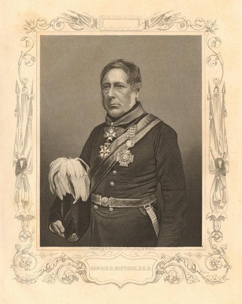 Associate Product CRIMEAN WAR. General Sir Henry John William Bentinck, KCB 1860 old print