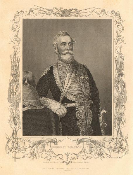 Associate Product CRIMEAN WAR. Major-General William Ferguson Beatson 1860 old antique print