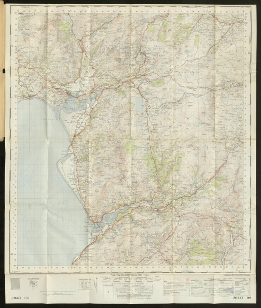 Associate Product Dolgelly Sheet 116 Dollgellau Snowdonia Barmouth ORDNANCE SURVEY 1957 old map