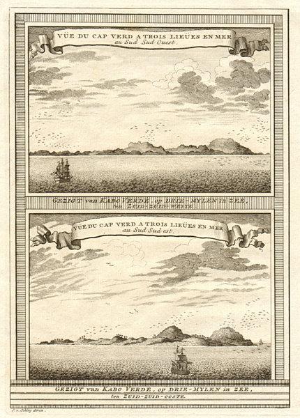 Associate Product Cap-Vert from SSW & SSE. Deux Mamelles, Dakar, Senegal. SCHLEY 1747 old print
