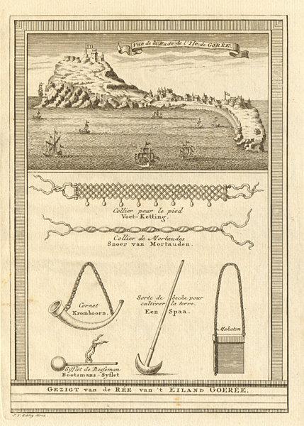 Associate Product 'La Rade de l'lsle de Gorée'. Île de Goree Dakar Senegal. Necklaces. SCHLEY 1747