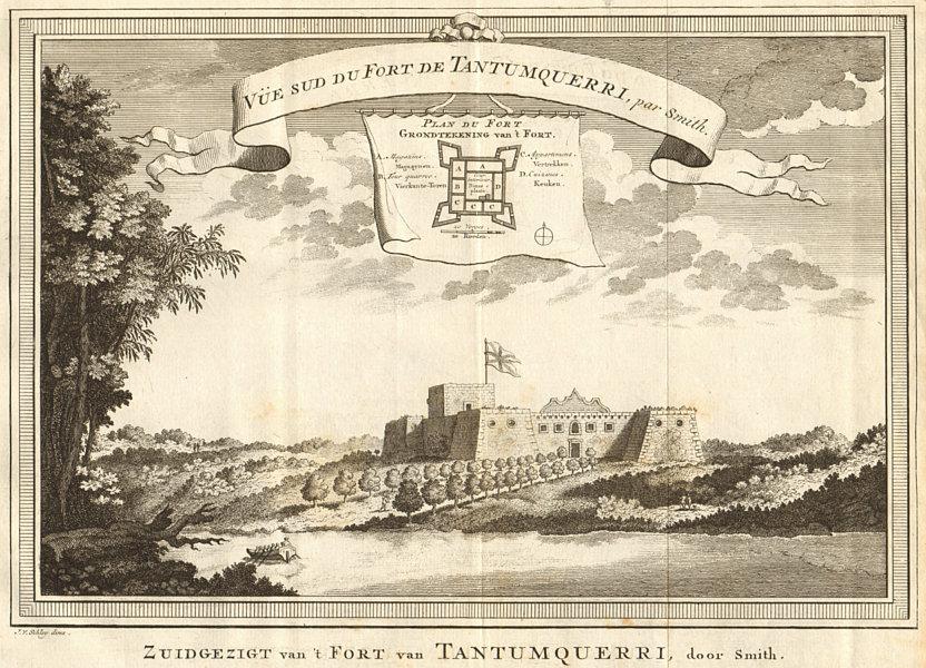Associate Product 'Fort de Tantumquerri'. Fort Tantumquerry, Otuam, Mfantseman, Ghana. SCHLEY 1747