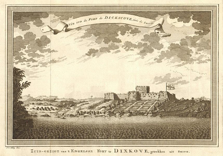Associate Product 'Fort de Dickscove'. Fort Dixcove (Metal Cross), Princes Town, Ghana SCHLEY 1748
