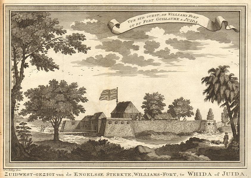 Associate Product Williams Fort ou… Fort Guillaume à Juida. Fort Williams Ouidah Benin SCHLEY 1748