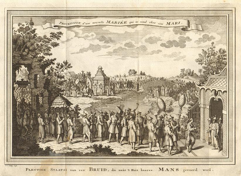 Associate Product 'Procession d'une nouvelle mariée…'. Newly married bride. China. SCHLEY 1749