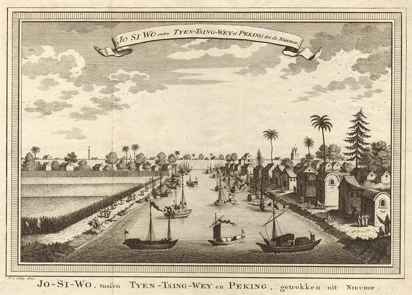 Associate Product 'Jo-Si-wo'. Io si wo, on the Haihe river between Tianjin & Beijing. SCHLEY 1749
